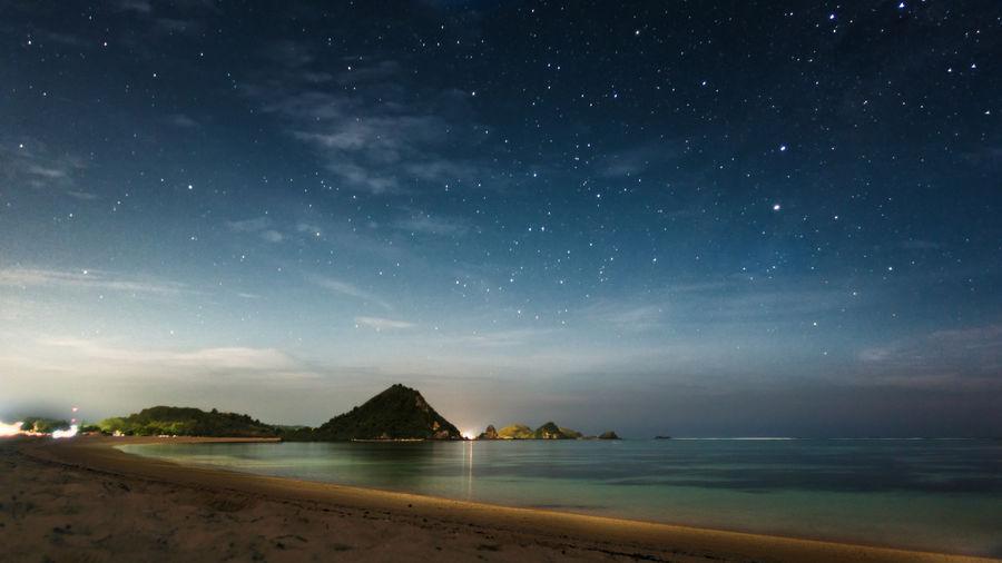 Stars over Kuta