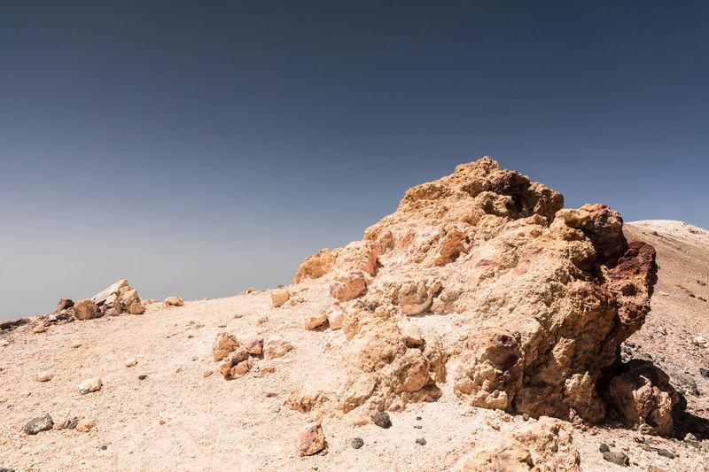 Landschaft Teide National Park Vulkan Day Desert Landscape Nature No People Outdoors Sky Teneriffa