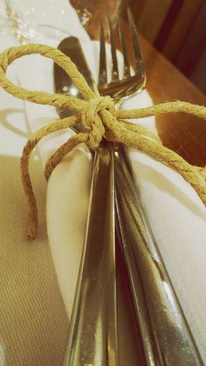 Fork Knife Table Dinner Celebration Close-up
