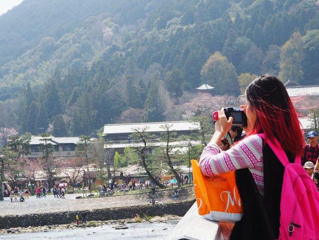 Riverside Taking Photos Me Cool Japan