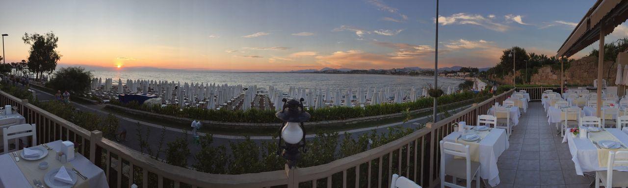 Holiday Urlaub Hotel Restraunt Sea Beach Sunset