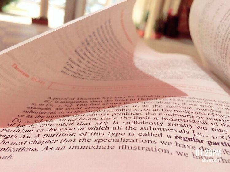 My Book 🙆🏻 Calculus Text Paper Book Libya Misurata Taking Photos Academy Academia Exam