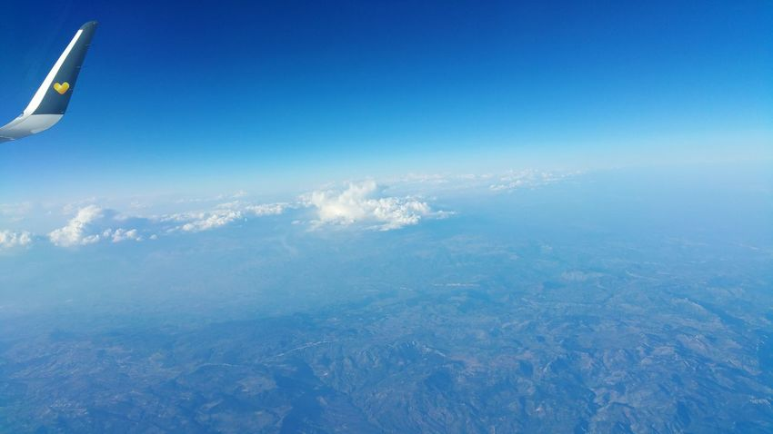 Flying to Cyprus - Mobilography™ by Kadeen's Media Mobilography Kadeen's Media Aeroplane Sky Horizon Plane Banking Left Flying Left Holiday Landscape Airplane Aircraft Clouds Landscapephotographer Imagine Create Behold Mountains Land Mountain Peaks Welcomeweekly