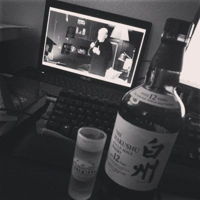 Whiskey and pastor George Carlin lol.