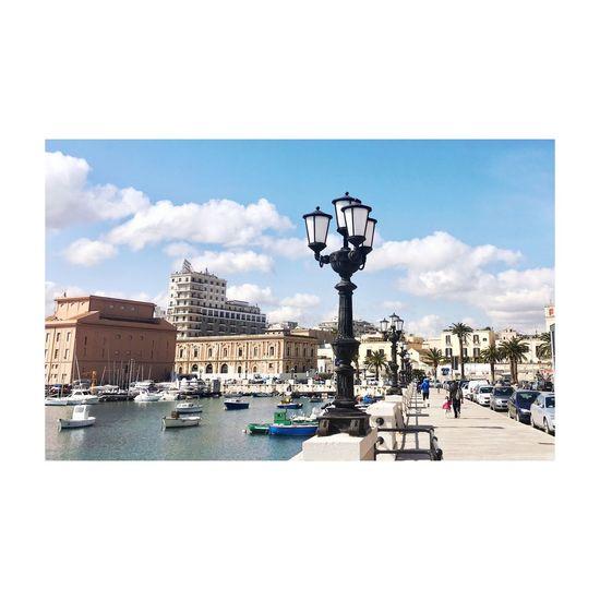 Bari Cityscape European City Europa United Water Architecture Italia Cityscape
