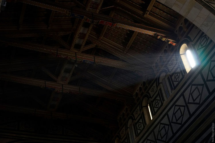 Architecture Ceiling Illuminated Indoors  Low Angle View No People Ray In The Dark Ray Of Sun Window
