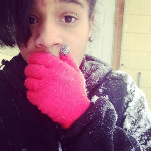 Outsidee In The Snow