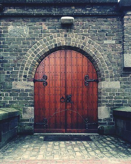 Door Built Structure Architecture Outdoors No People Building Exterior Closed Entrance Wooden Door Church Door
