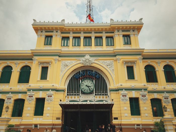 Vietnam Hanging Out Traveling Hochiminh Happy Architecture