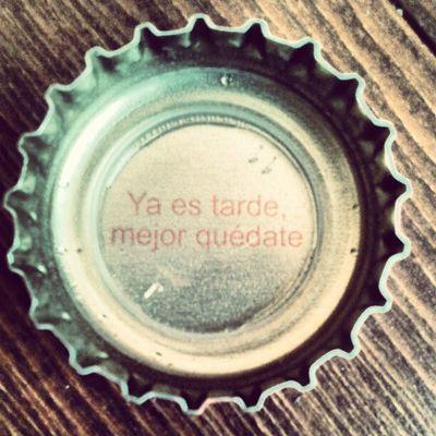 Lo dice la cerveza!!