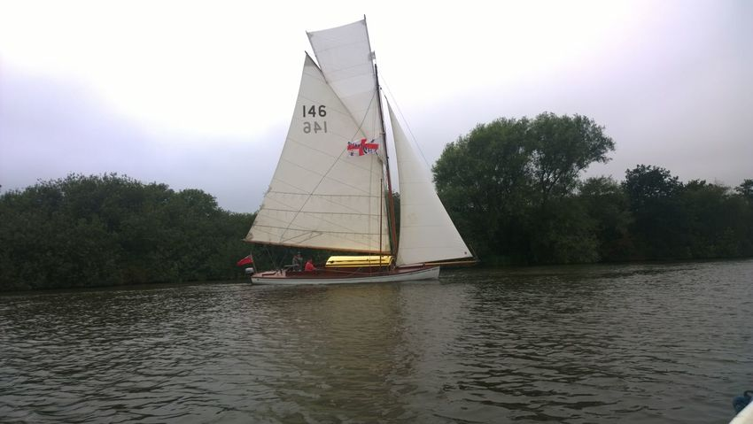 Norfolk Broads Sails Up Nature Nautical Vessel Outdoors Sailboat Sailing Sails Transportation Water Waterfront