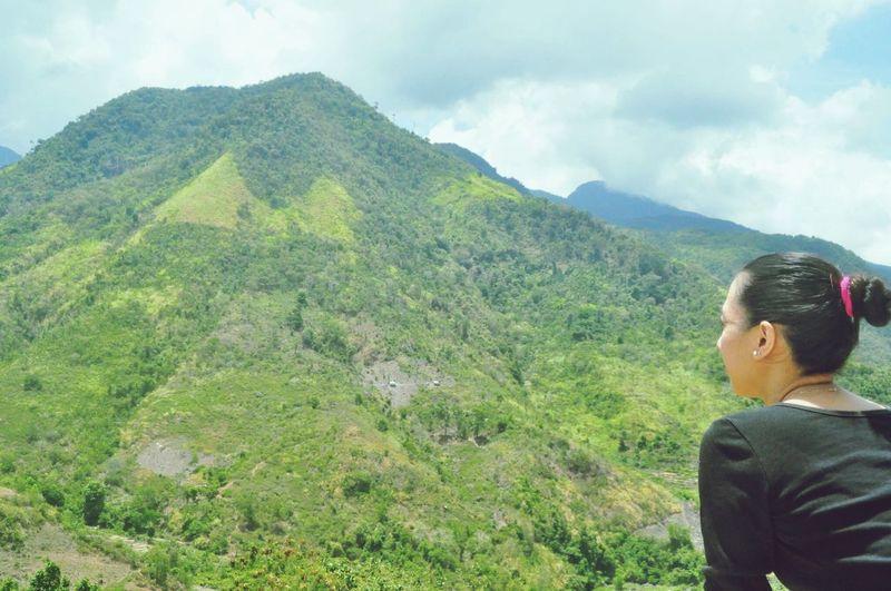 ... thinking... 🤔 Travelgram Lyndiary Memories ❤ Iheartpinas Mountain View Negros Island Tranquility Scene