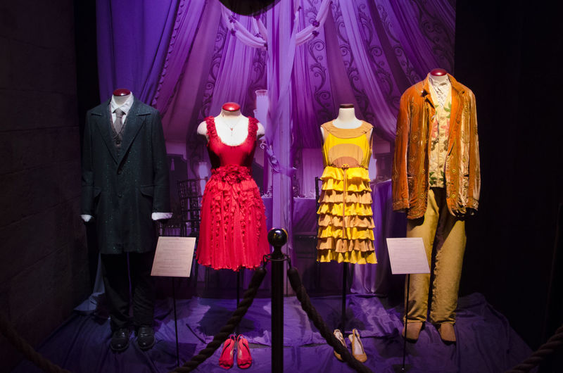 Dresses Film Harry Potter Art And Craft Clothing Exhibition Center Harry Potter Studios Harry Potter World J.k. Rowling Mannequin Museums Party Look Rowling Stage