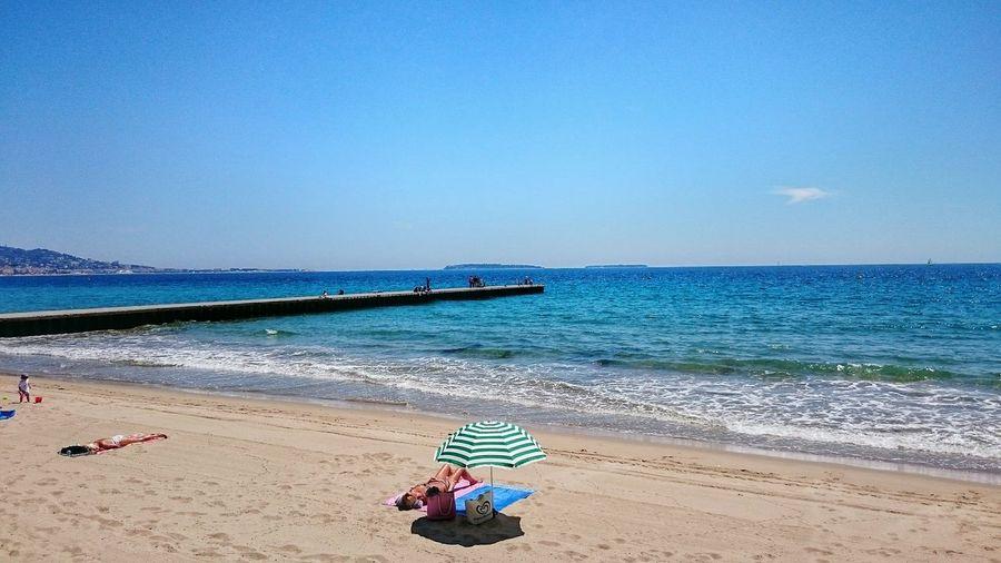 Cannes Sea