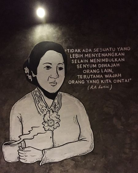Raden Ajeng Kartini is an activist who fought for women freedom! HERO Woman Power
