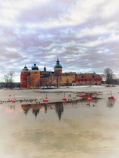 Castle Gripsholm Sky Cloud - Sky Water Outdoors Beach Travel Destinations Day Architecture Sea Building Exterior