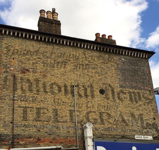 Ghost sign in Clapham SouthLondon Ghostsign