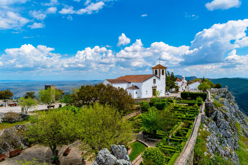 castelo de marvão Architecture Building Building Exterior Built Structure City Cloud - Sky Day History House Mountain Nature No People Outdoors Plant Residential District Scenics - Nature Sky The Past Tree Water