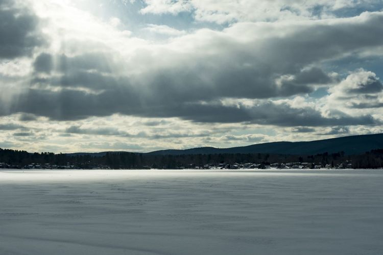 Last week's of winter in The Berkshires! Looking forward to spring. Landscape Art Mountain Winter Cold Temperature Snow Sky Landscape Cloud - Sky Storm Cloud Dramatic Sky Cumulonimbus Lightning Overcast Cloudscape Moody Sky Shore Storm My Best Photo