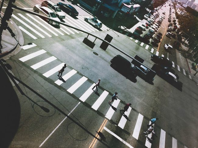 Amongst strangers IPhoneography Street Photography Streetphotography People NEM Street NEMstreet Crosswalk NEM Mood Creative Light And Shadow