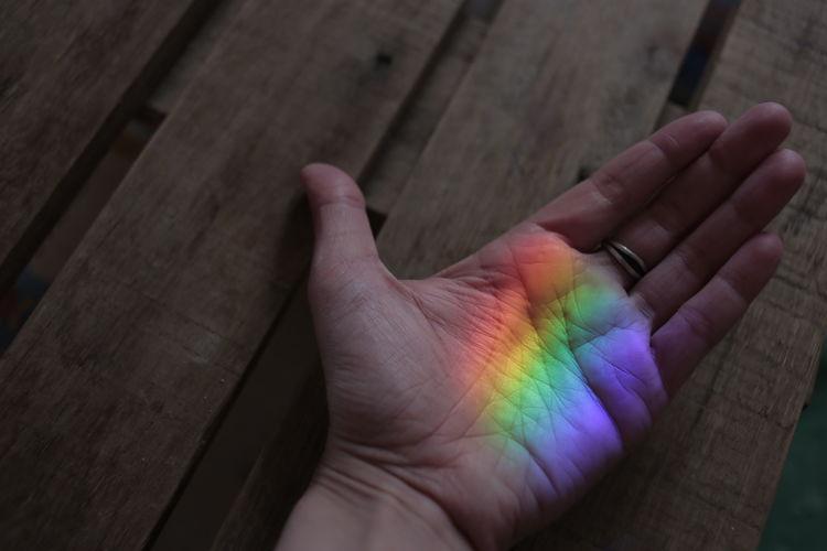 Colourful Colours Nature Rainbow Sky Rainbow Colors colour of life Colourfull Colours Of Nature Hand Human Body Part Human Hand Multi Colored Rainbow