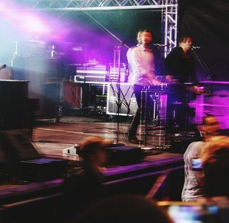 Electronic Music Shots Editors Concert Open Source Festival  Düsseldorf Pferderennbahn