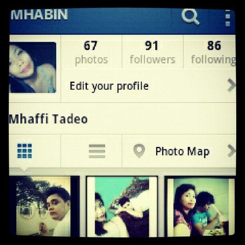 Screencapture Followme @ MHABIN Oninstagram