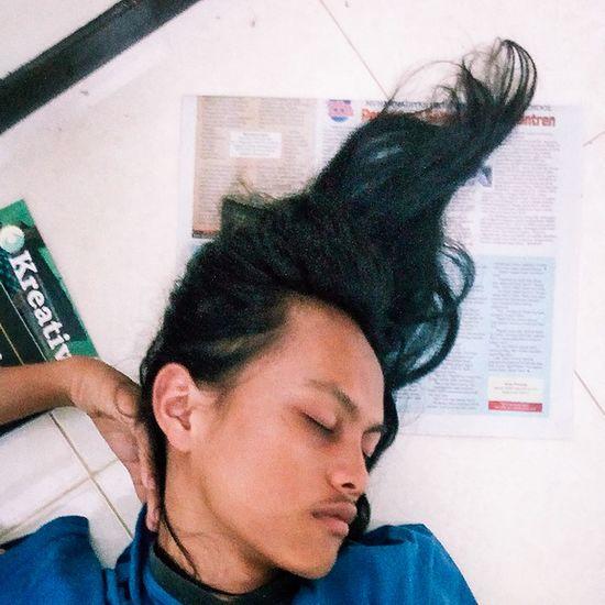 Being angel Sleeping Jogjastudent Young Wild And Free(; Potraiture Potraitist Potrait Of Man Yogyakarta Story Potraitphoto Potrait_photography