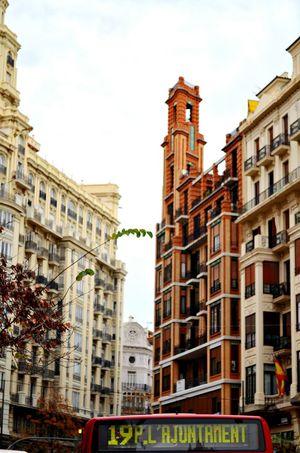 Nikon Taking Photos City Valencia City City Life View Orange