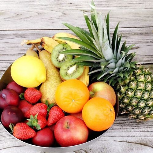 Summer fruits Fruit Food Healthy Eating Freshness Pineapple Food And Drink Wood - Material No People Kiwi - Fruit Close-up Indoors  Day First Eyeem Photo