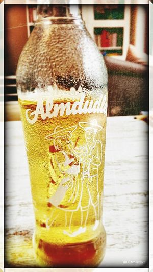 Drink Refreshment Food And Drink Beer No People Freshness Close-up Cold Temperature Indoors  Day Frothy Drink Almdudler