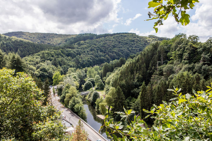 Day Historic Luxembourg Mountainous Nature Outdoors River Town