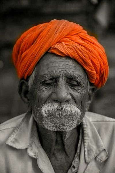 Old Man Age Face Expression Canon 700D Colors Editing Traveller Photography
