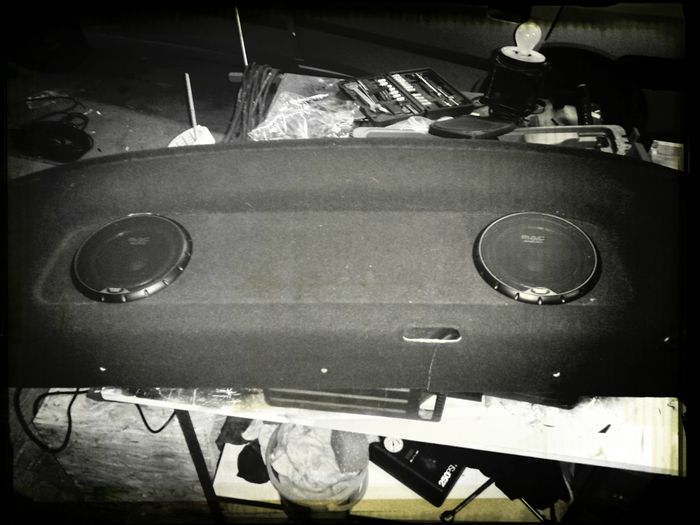 New rearspeakers