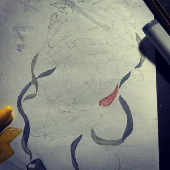 painting an old draw.. Paint Art Sketch Draw Artattack