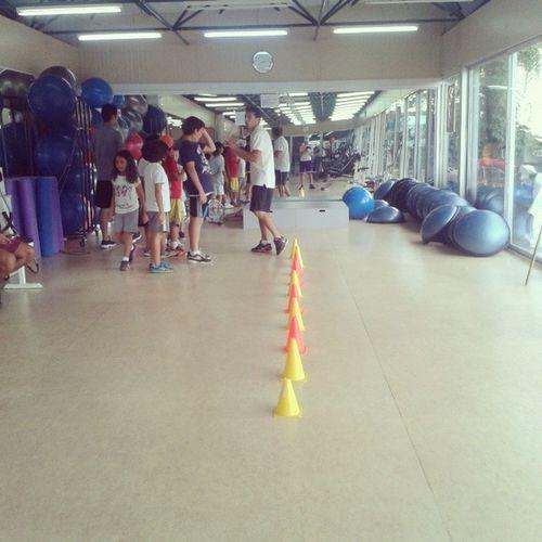 Miniklerle Fitness Zamani :-)
