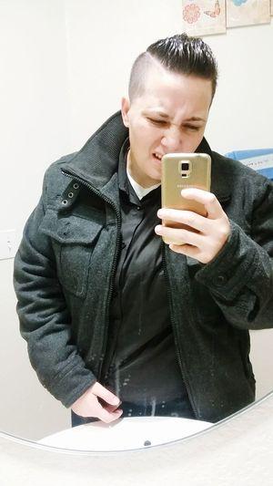 Selfie Latepost Gs5 Lesbian Bathroompic