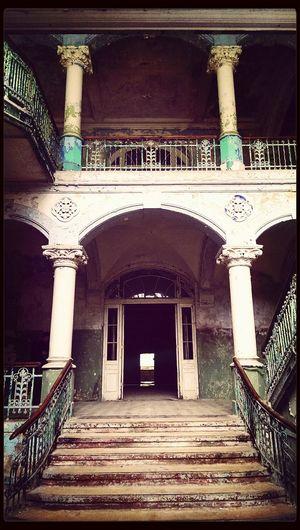 . Fototour Architecture Beelitz Heilstätten Stairs