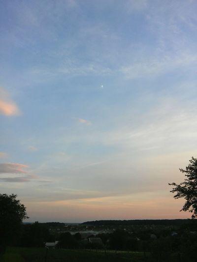 небо небеса небесныекраски Закат облака прекрасныйвечер Sky Sky And Clouds Sunsets
