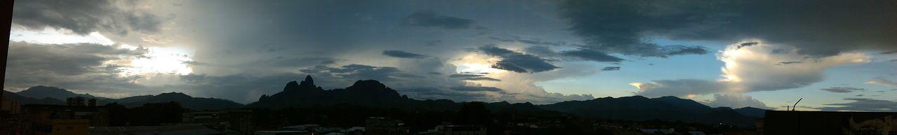 Panoramic view San Juan de los Morros, Guarico Venezuela