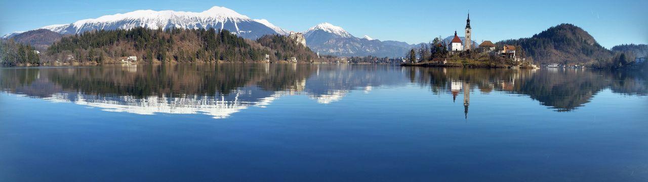 Reflection Mountain Lake Water Mountain Range Outdoors Scenics