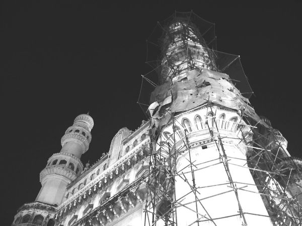 EyeEm Selects Night Architecture History No People Travel Destinations Illuminated Outdoors Politics And Government Hyderabad,India City Oneplus2 Hyderabad Monuments Building Exterior Oneplusphotography Hyderabaddiaries India Black & White Monochrome Hyderabad Heritage Eyeemphotography Charminar The Pride Of Hyderabad Eyeemedits Old City