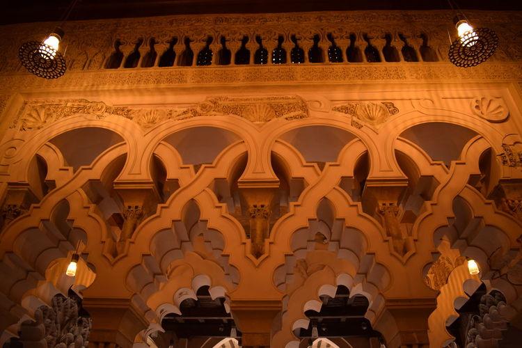 Al-Andalus Aljaferia Geometric Architecture Arch Architecture Geometry History