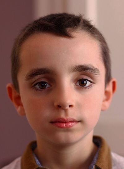Portrait practice with the Canon 50mm f1.4 and Portrait Professional software. My son. With his lady killer eyes Portrait Son Eye4photography  DSLR