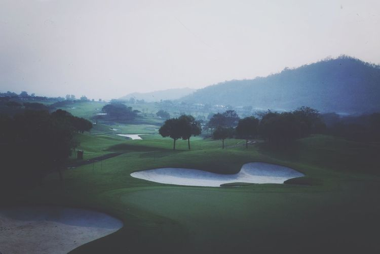 An other golf picture. Sorry about that. But this is my working place the next few weeks. :) The Grass Is Green Golfcourse Golf Green Valley EyeEm Thailand Hello World Work