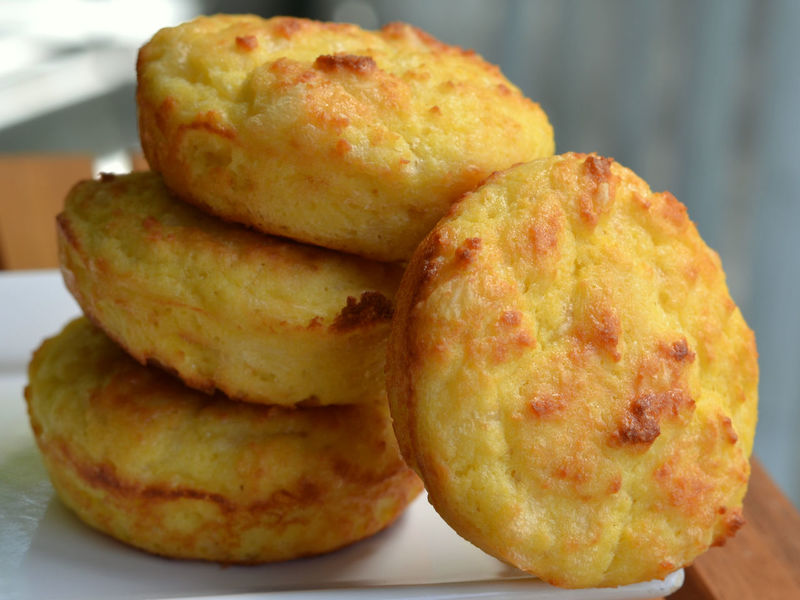 Stack of Ketogenic, Low Carb Cheese Biscuits: close up of cheese Buns. Diet Homemade Keto Side Dish Baked Biscuits Buns Cheese Close-up Diet Food Five Focus On Foreground Food And Drink Ketogenic Low Carb Low Carbohydrate Ready-to-eat Side-dish