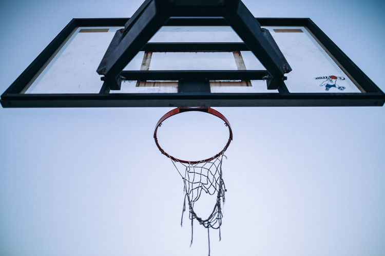 Amazing View WeekOnEyeEm Amazing Basketball Basketball - Sport Basketball Hoop Canon Canon_official Canon_photos Canonphotography Close-up Competition Court Day Directly Below Hanging IPhone Leisure Games Low Angle View Making A Basket Net - Sports Equipment No People Outdoors Skill  Sky Sport Week On Eyeem EyeEmNewHere