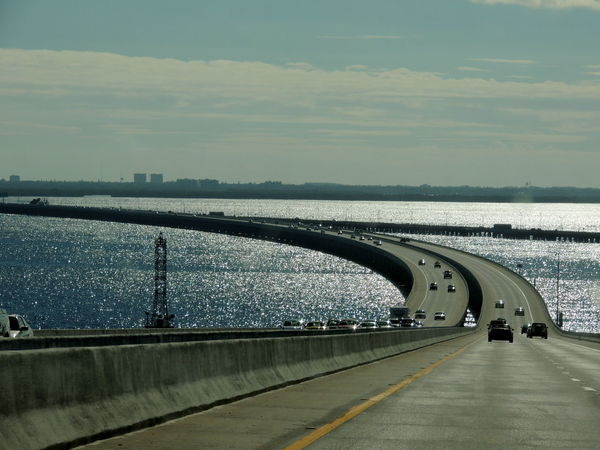On The Road Florida Street In The Sea Florida United States Relax