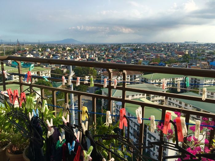 clothes line and city view Clothespins Clothes Pegs Clothes Line Clothes Clip Clothesline Horizon Cityscapes City View  Taguig