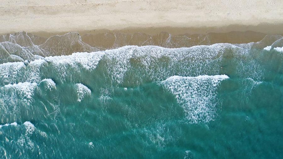 Beach on aerial